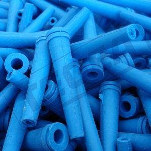Technical articles made of silicone